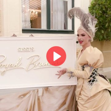 Video: Premiere von Sissi's Royal Brunch